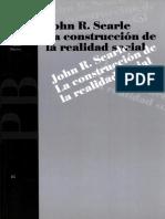 Searle John-La construccion de la realidad social.pdf