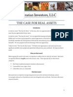 The Case for Real Assets