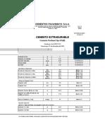 Certificado de Calidad Tipo HS 2009