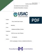 Administración Pública y Privada APA