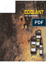 COOLANT AND YOUR ENGINE