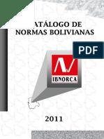 CATALOGO 2011 normas bolivianas.pdf