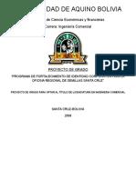 315977664 Proyecto de Grado Para Optar Al Titulo de Licenciatura en Ingenieria Comercial