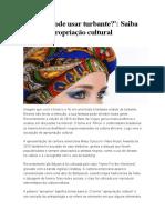 Apropiacao Cultural