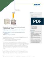 Ds Ac Dc Hv Test Set Pgk 110-5 Hb Baur Es-es