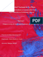 Revista de Teatro Independiente Mar del Plata