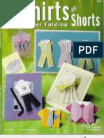Shirts and Shorts Paper Folding - 99