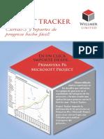 Brochure Project Tracker Espac3b1ol