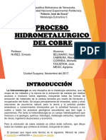 Hidrometalurgia Cobre