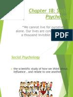 social psychology 2018