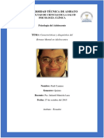 Criterios Diagnósticos Del Retraso Mental