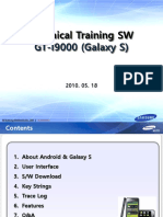 Samsung GT-i9000 SW Technical Training