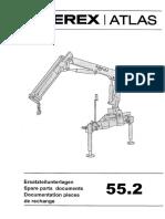 ATLAS 55.2 6067882 05.04 Parts Catalog