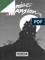 Maniac Mansion Dos 0548 Manual