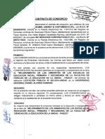 Contrato Consorcio y Resolucion