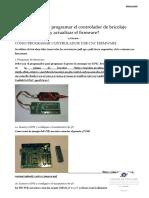 ¿Cómo Puedo Programar El Controlador de Bricolaje y Actualizar El Firmware_ - Planeta CNC