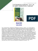 Fundamentos de Engenharia de Alimentos Vol 6 (1)
