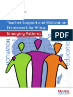 teacher motivation africa