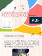 Evaporacion Operaciones Unitarias III (Para Exponer)