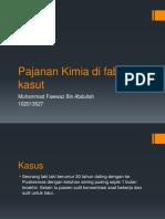 Fawwaz's 28 Pajanan Kimia.pptx