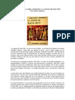 Resumen de La Obra Literaria La Agonia de Rasu Ñiti