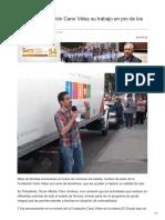 25-04-18 Mantiene Fundación Cano Vélez su trabajo en pro de los sonorenses