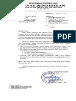 Surat Pengusulan SP UNBK 2018 Dan Lampirannya OK