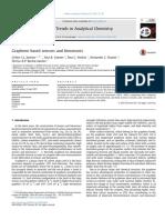 Graphene based sensors and biosensors