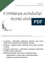Formarea Conduitei Moral Civice Free