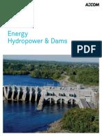 AECOM Hydropower and Dams Global Brochure