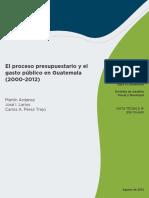 FMM TN El Proceso Presupuestario en Guatemala