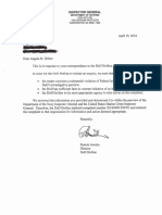 DoD IG Response 4.19.18