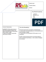 kickstart lesson plan template 4