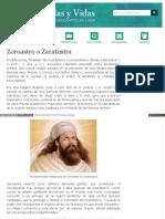 Www Biografiasyvidas Com Biografia z Zaratustra Htm