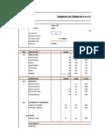 Costos de Instalacion de Cimbras
