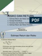 Apertemuan 23risk and Return2015