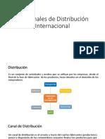 Canales de Distribucion Internacional