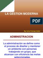 Presentacion Del Tema La Administracion Moderna y Los Roles Gerenciales