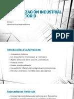 Automatización Industrial Unidad uno