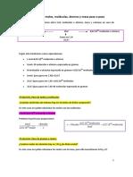 Ejercicios Resueltos de Moles Quimica 30jul17