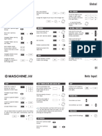 MASCHINE JAM 2.6.5 Cheat Sheet English 0517
