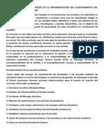 Cuàl Es El Papel Del Docente en La Implementaciòn Del Planteamiento Del Nuevo Modelo Curricular