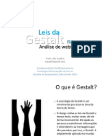 Slide - Leis Da Gestalt - Websites