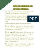 EL PROCESO DE SANACIÓN DE NUESTRAS HERIDAS EJERCICIOS N° 6