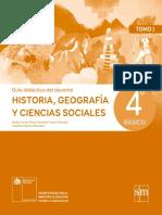 Historia, Geografía y Ciencias Sociales 4º Básico - Guía Didáctica Del Docente Tomo 1
