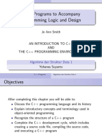 Just 01 Cpp Handout