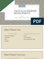 professional leadership development