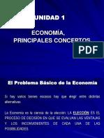 Economia, Principales Conceptos