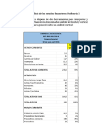 Analisis Financiero Evidencia 2