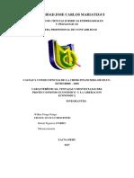 Universidad Jose Carlos Mariategui Caratula